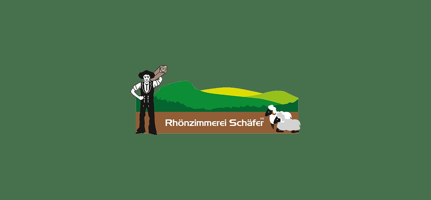 Rhönzimmerei Schäfer - Background Startbild Logo