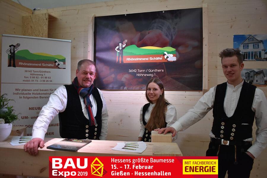 Rhönzimmerei Schäfer - Bau Expo 2019